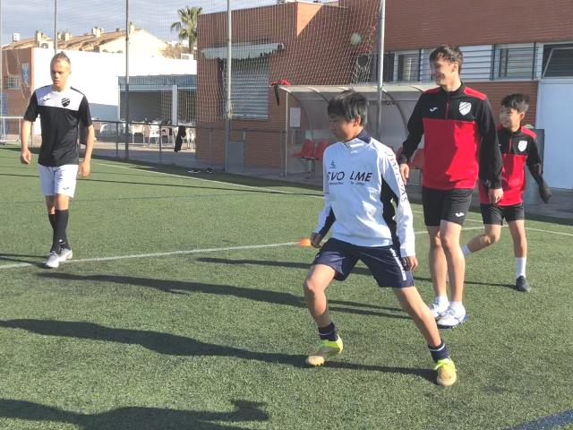 Japanese Players Spain Football Academy