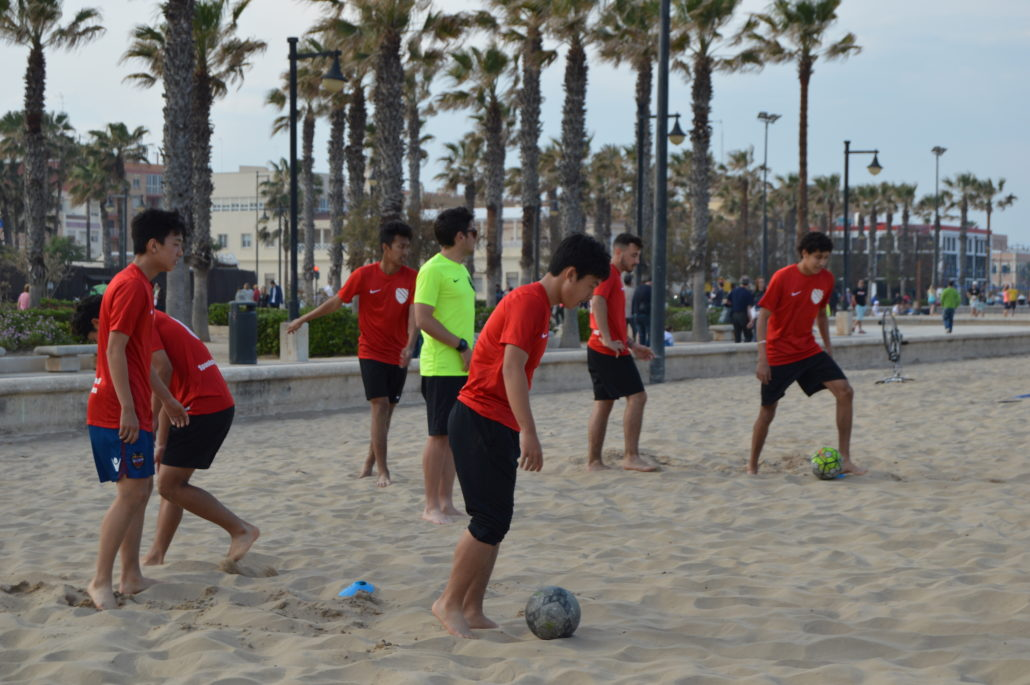 BEACH SOCCER IN SPAIN