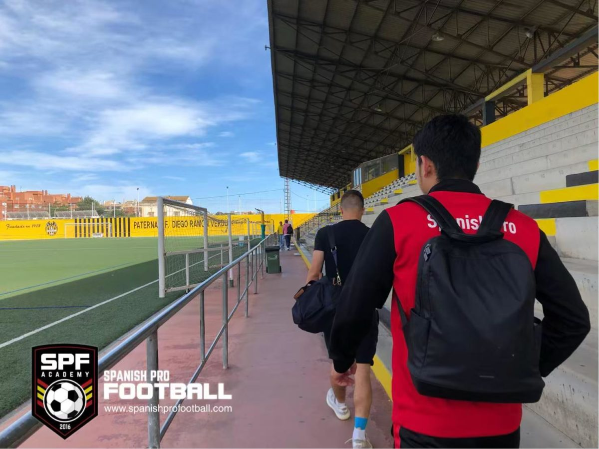 Tryout Spain Football SPF