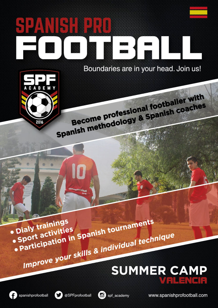 Summer Soccer Camp in Spain, football academy in spain