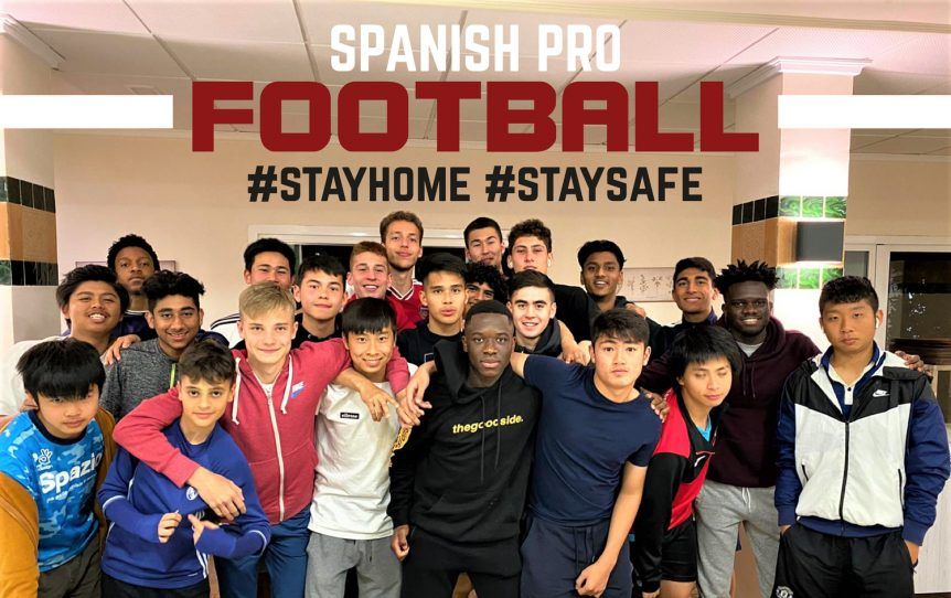 soccer academy quarantine in spain