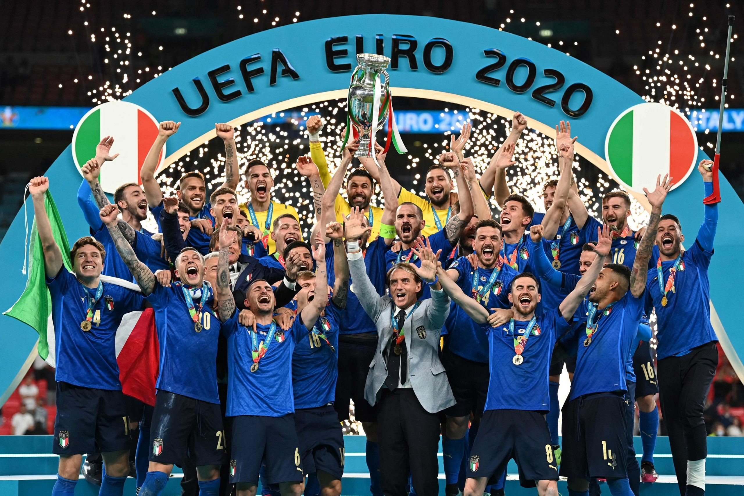 """Featured image for """"Italy crowned at Wembley"""""""