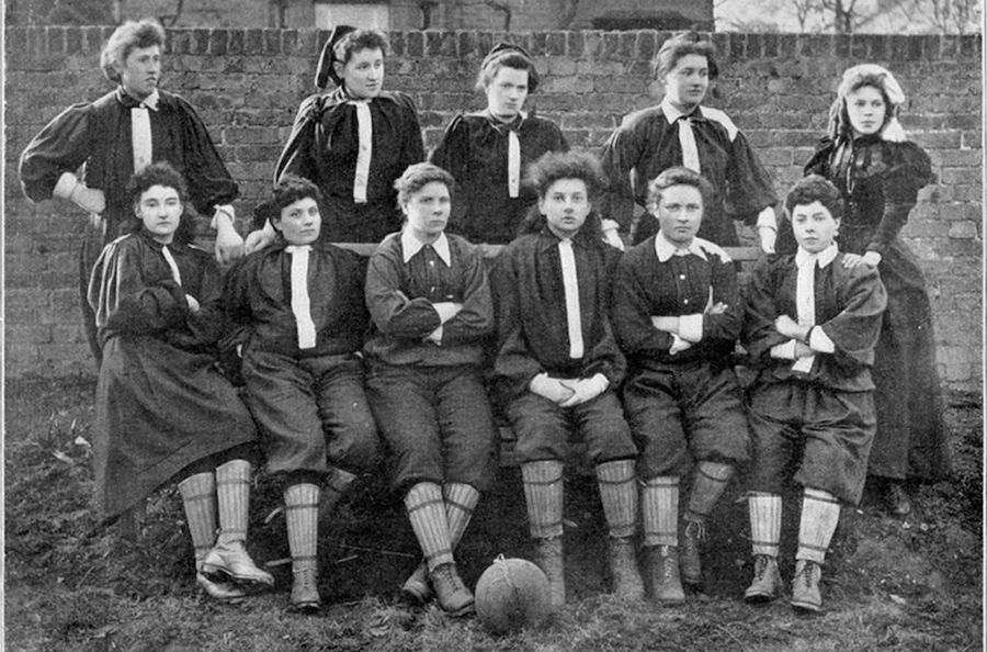 """Featured image for """"History of women's soccer"""""""