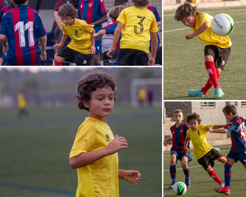 Youngest player of Spain Rush-SPF soccer academy